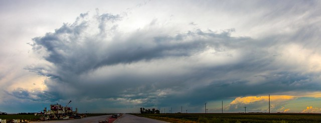 080215 - LP Nebraska Storm Cells (Pano)