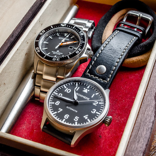 Ladies Excalibur & Archimede Pilot 36mm | by muchacho86