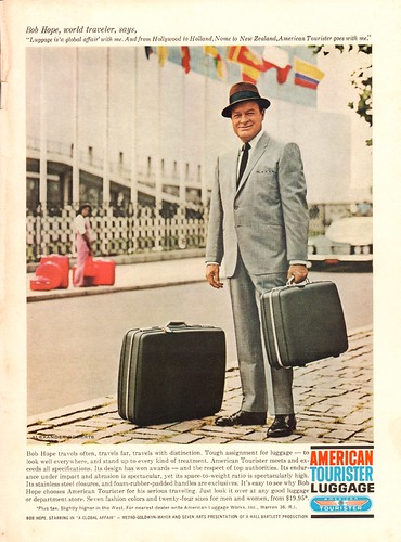1964 American Tourister Luggage Advertisement with Bob Hope Newsweek November 30 1964 | by SenseiAlan