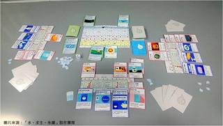 《水。求生。永續》遊戲進行示意圖。 | by TEIA - 台灣環境資訊協會