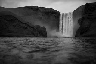 Smoke Without Fire (Skógafoss), Skógar | by flatworldsedge