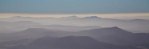 sky cloud mist mountains fall bluesky layers mtwellington kunanyi