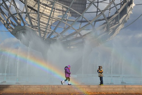 park new york city newyorkcity fountain rainbow meadow landmarks queens corona commission unisphere preservation flushing
