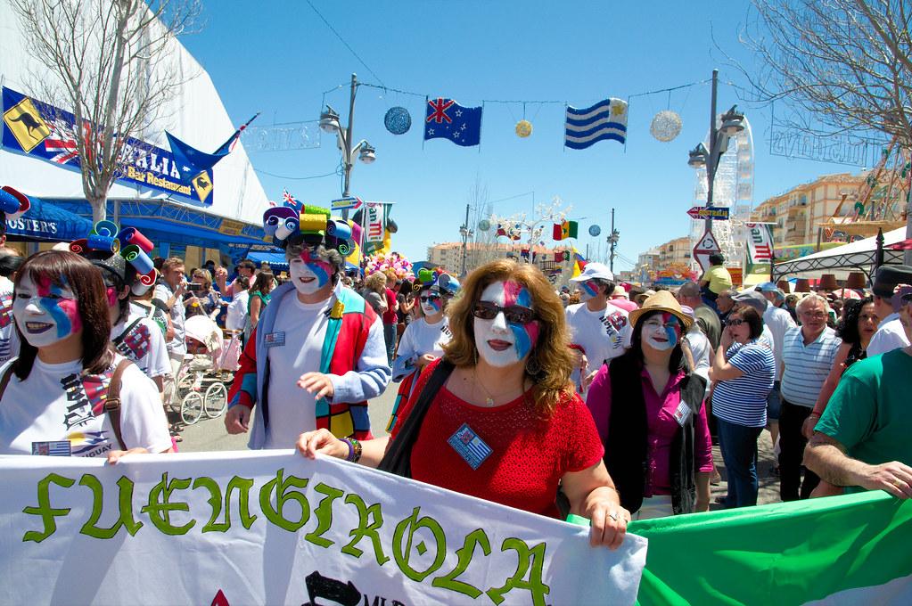 Feria Internacional de los Pueblos - Fuengirola 2014