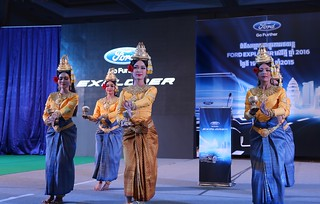As proof of Cambodia's successful economic growth over the last fifteen years, RMA Cambodia held a special event on November 19, 2015 to celebrate the launch of the all-new 2016 Ford Explorer.