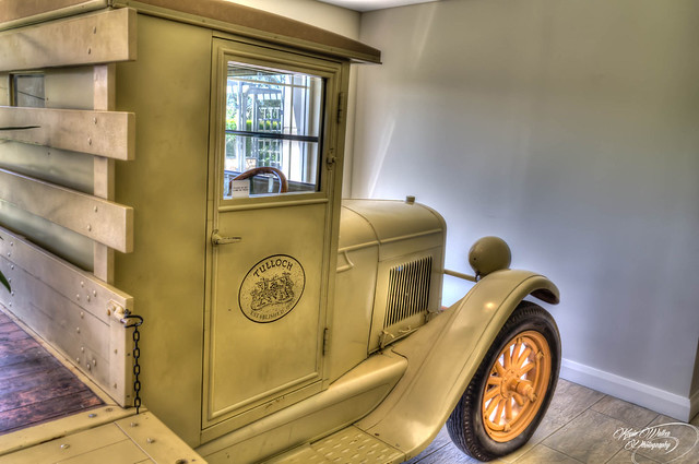 Old Tullock Delivery Truck