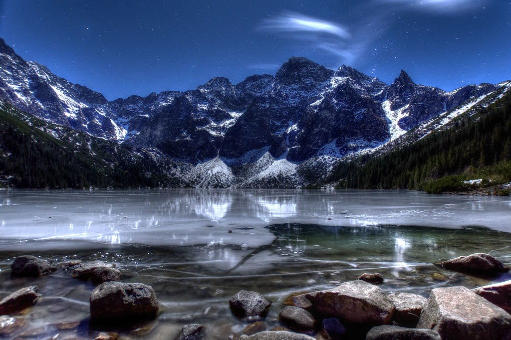 Lake Morskie Oko in Zakopane