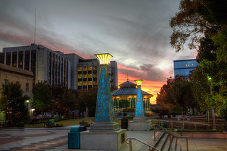 """""""Sunset on the Square"""" (City of Decatur)"""