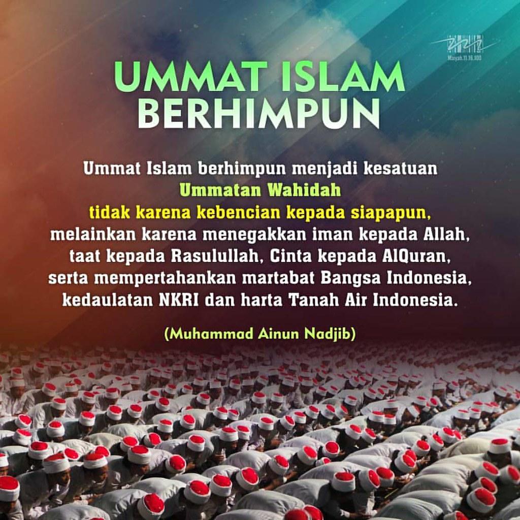 Ummat Islam Berhimpun Caknun Emha Emhaainunnadjib Maiy