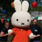 Happy Birthday Miffy | This year Miffy turned 60! She joined us in Charlotte Square Gardens to celebrate.