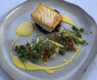 Halibut with Chanterelles | by Josephine2004