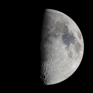 Moon First Quarter + 1 day 150922 | by Rob Pettengill