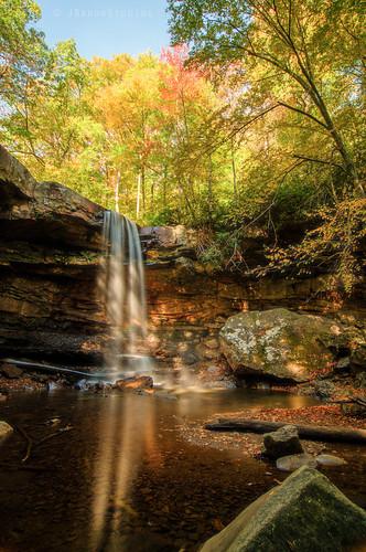 longexposure autumn fall nature water waterfall pentax falls pa ohiopyle fallinpa cucumberfalls westernpa k5ii pentaxk5ii