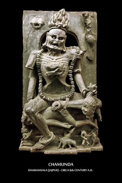 India - Odisha - Bhubaneswar - Odisha State Museum - Chamunda - 2