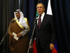 С.В.Лавров и Сабах Аль-Халед Ас-Сабах / Sergey Lavrov & Sabah Khalid Al-Hamad Al-Sabah