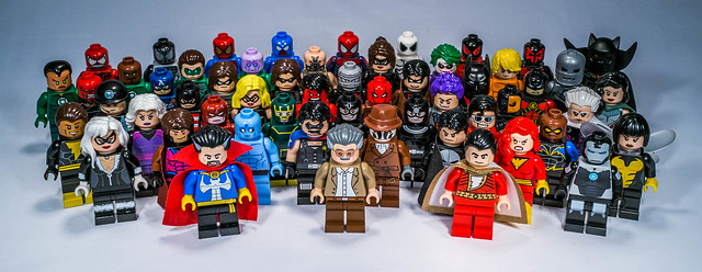 My Lego Super Heroes Customs Collection