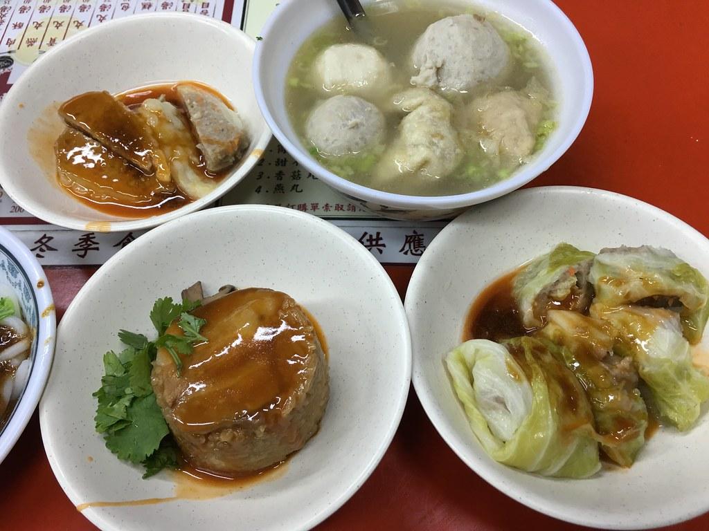 桶仔米糕, 苦瓜丸, 綜合丸湯, 菜捲, 呷二嘴, 台北| bryan... | Flickr