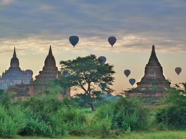 Templos de Bagan, esenciales en todo viaje a Myanmar