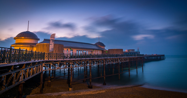 Hasting Pier Before Sunrise