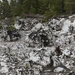 Rocks along Clear Lake Trail