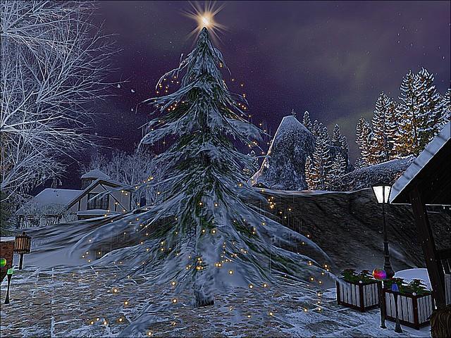 Let I Snow! - Christmas Tree Lights