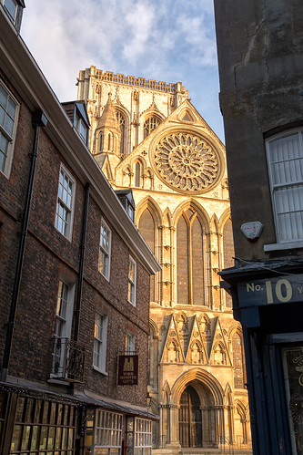 Minster in the morning