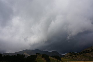Bad weather in Pyrenees | by toebbel