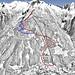 Mapa Gastein - Graukogel