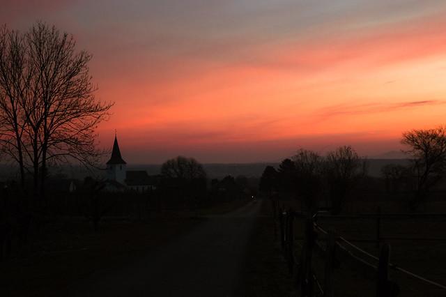 Sunrise in the Rhineland