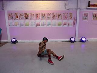 dancer at the deb calendar launch