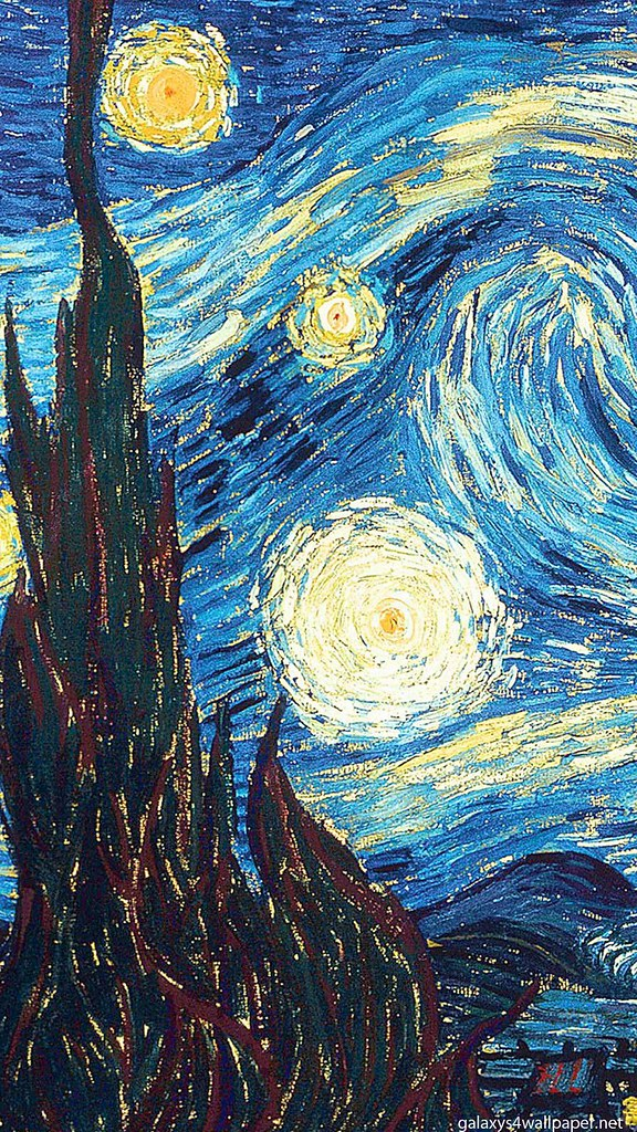 Vincent Van Gogh Galaxy S4 Wallpaper Hd Wallpapers 1080x