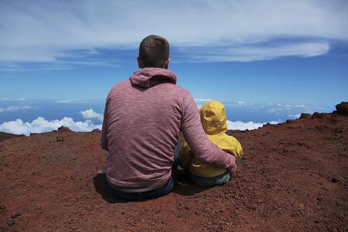 Here is the world, my son, and I love you. | by t r e v y