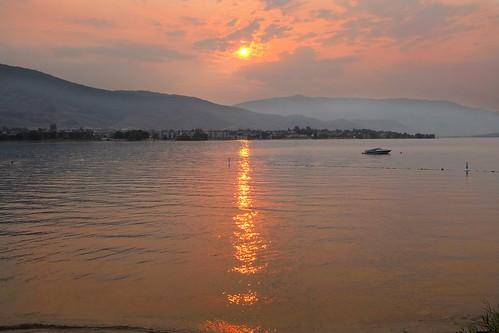sunset lake colors okanagan fujifilm osoyoos explorebc explorecanada fujixseries x100s