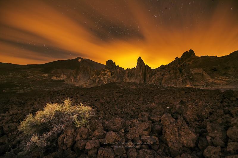 El campo de lava