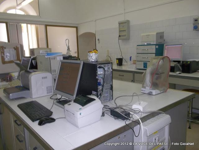 laboratorio analisi ospedale