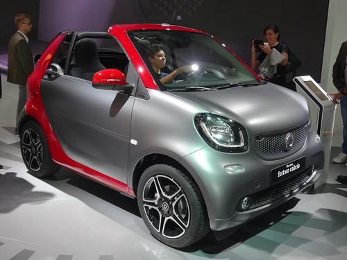 IAA 2015: Smart Fortwo Cabrio Photo