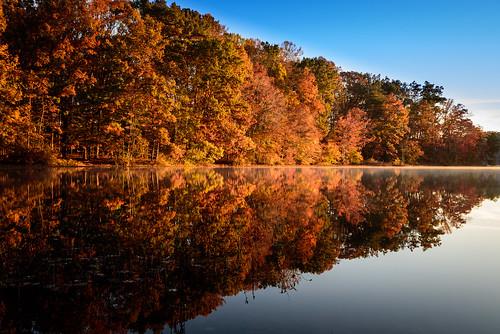 fall nature water landscape mirror nikon autum fallcolors fineart d750 tamron burkelake 2015 vaphotographer dangirardphotography