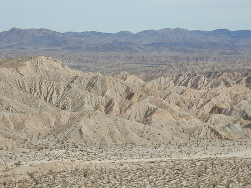 Carrizo Badlands Overlook - 1