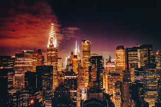 New York City Skyline - Gotham Dusk | by Vivienne Gucwa