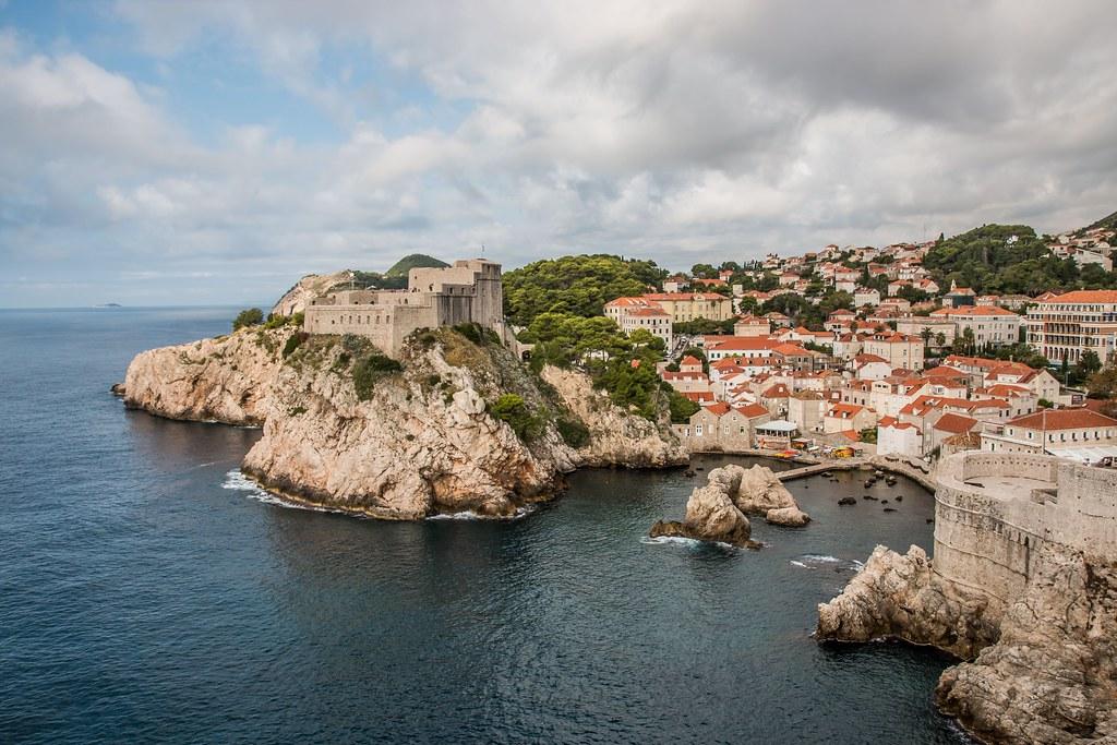 Fort Lovrijenac Dubrovnik Croatia (aka Red Keep in King's Landing Game of Thrones)