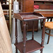 Ornate mahogany whatnot €30