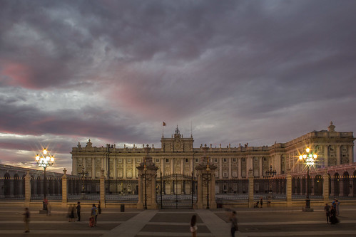 madrid spain travel architecture flickr palace sky sunset