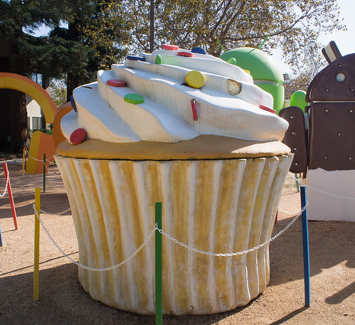 2016/11/05 (土) - 11:57 - Cupcake ー Google Merchandise Store