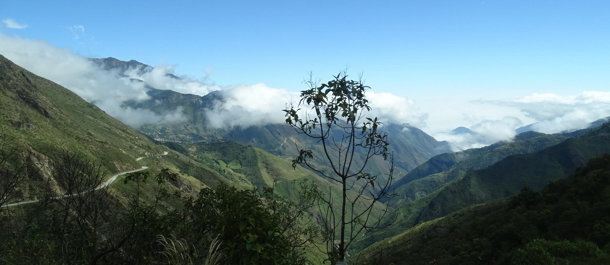 montañas de Ecuador