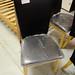 Black kitchen chair