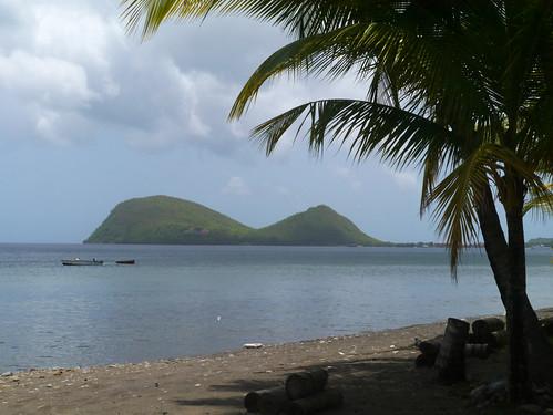 sea beach coast caribbean picard dominica cabrits