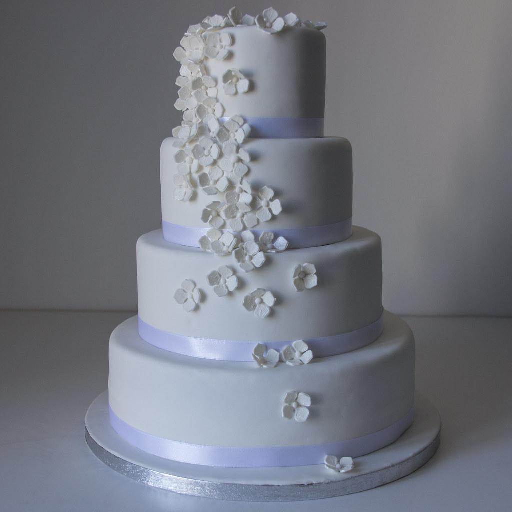 Gateau Mariage Hortensia Wedding Cake Les Délices De