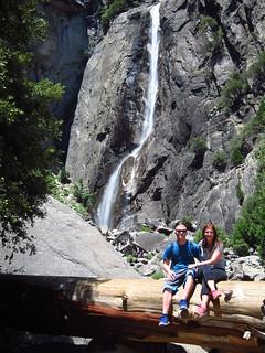 Megan and Jordan at Lower Yosemite Falls | by fabulousfabs