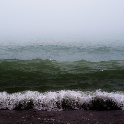d5000 nikon abstract autumn beach fog foggy horizon lake landscape minimal minimalism mist misty natural noahbw shore shoreline sky square water waves lakesidefog painterly