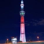 東京スカイツリー 「スター・ウォーズ/フォースの覚醒」公開記念ライティング Tokyo Sky Tree